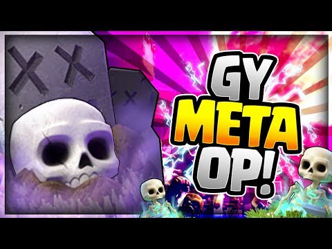 BEST GRAVEYARD DECK in the GAME!? EASY LADDER WINS!! Clash Royale Graveyard Spawner Deck 2018