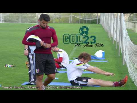 Tomas Rincon Modulo Madrid 2014