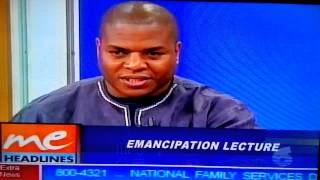 tv6 interview on trinidad african history jul 2014