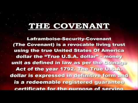 US Treasury - Laframboise Security Covenant