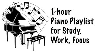 1 hour piano music: meditation music, relaxing music, soft music, relaxation music