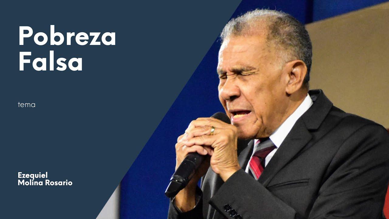 POBREZA FALSA | Ezequiel Molina Rosario | Predicas Cristianas 2020