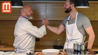 Recette de ravioles et œuf poché - Philippe Etchebest