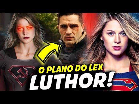 LEX LUTHOR CRIOU O AGENTE DA LIBERDADE!    SUPERGIRL 4X08
