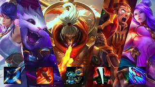 Top Montage - Best Top Plays ( Top Carry )   League of Legends Top