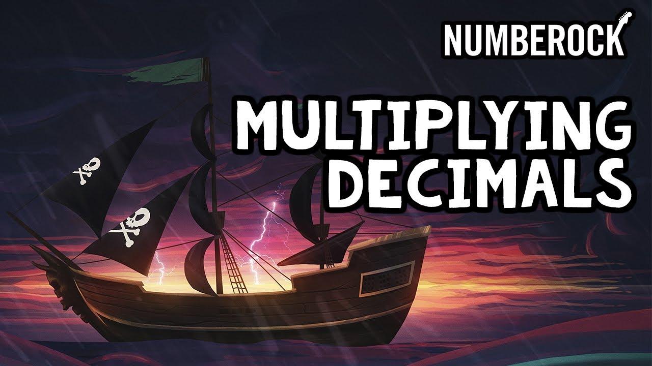 medium resolution of Multiplying Decimals Song   How to Multiply Decimals - YouTube
