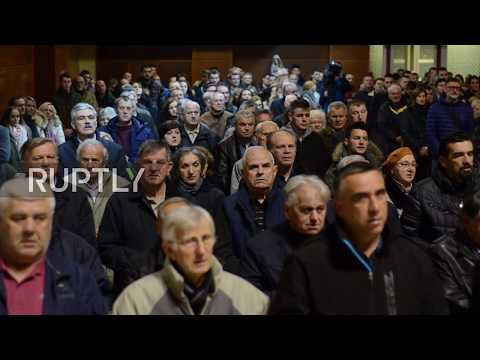 Bosnia and Herzegovina: Mostar holds vigil in support of convicted Bosnian-Croat leaders