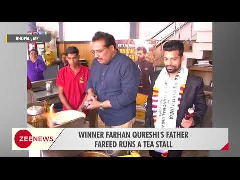 Tea seller bags title of Rubaru Mr. India International 2018