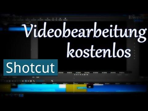 VIDEOS kostenlos SCHNEIDEN mit [ SHOTCUT ] - Programm Einführung German / Deutsch