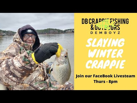 2020 Trolling For Winter Crappie At Lake Oconee, GA Ritz Carlton