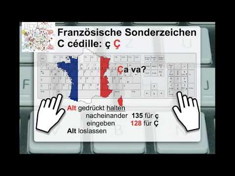 ç œ Œ æ ë ï Französische #Sonderzeichen per PC-Tastatur