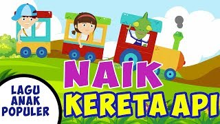 Naik Kereta Api - Lagu Anak Indonesia Populer - ChikaMimiHD