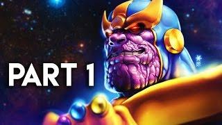 Guardians of the Galaxy Gameplay Walkthrough Part 1 - THANOS BATTLE!! (PC Gameplay)