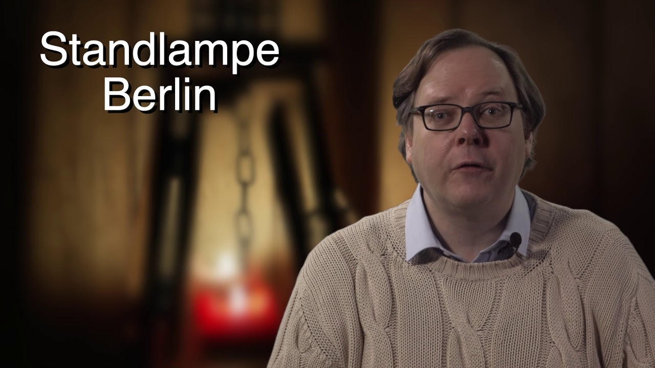 Standlampe Berlin Stehlampe Berlin Kaufen Youtube