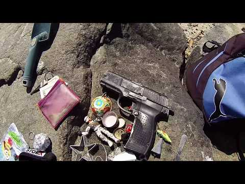 Thumbnail: ((( FOUND SUSPICIOUS FIRE ARM))) gold & silver metal detecting