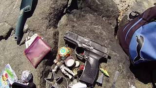 ((( FOUND SUSPICIOUS FIRE ARM)))  gold & silver  metal detecting