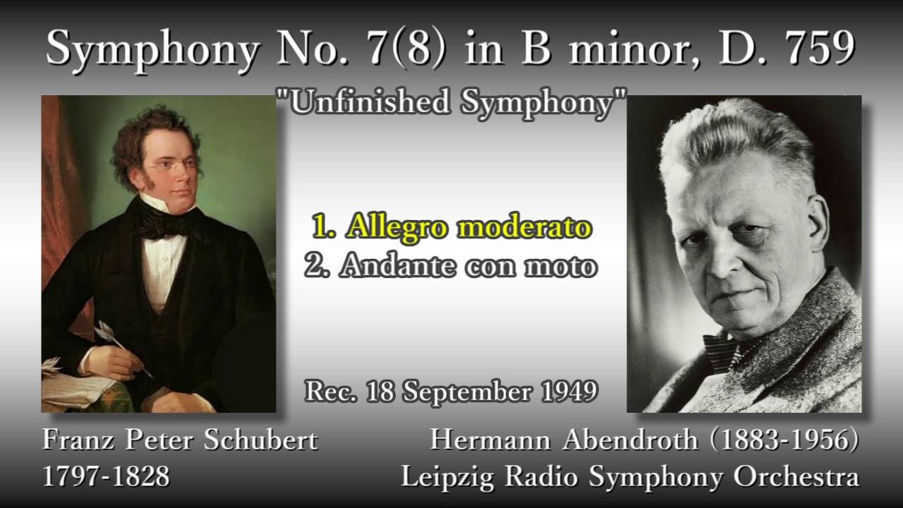 Schubert: Symphony No. 7(8) `U...