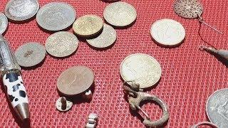 В поисках клада №106 ( Монеты,колечко)