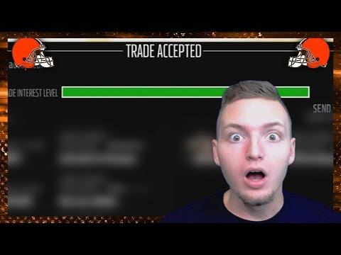 MEGA TRADE ACCEPTED! (Madden 18 Franchise)