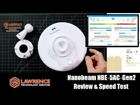 Nanobeam NBE‑5AC‑Gen2 Review & Speed Test