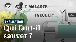 Coronavirus : qui faut-il sauver quand on ne peut pas soigner tout le monde?