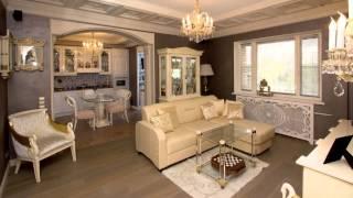 Дизайн квартир венецианский образ московской квартиры Стиль  классический