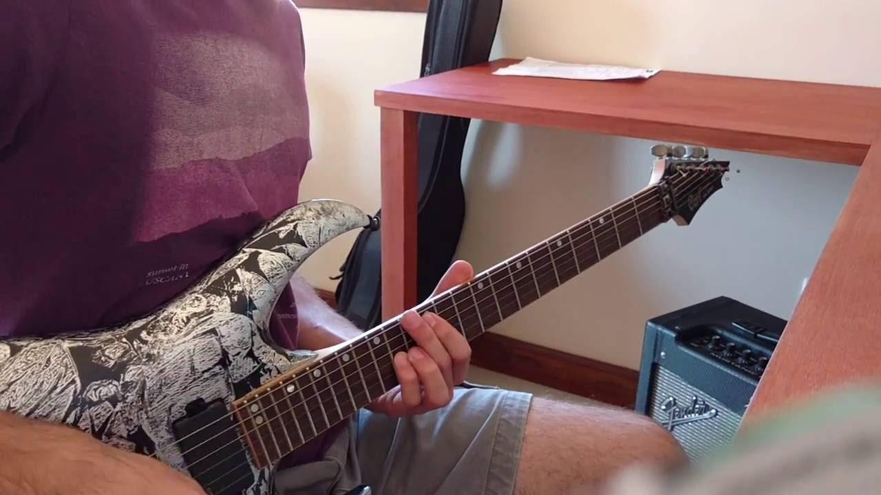 avenged sevenfold gunslinger acoustic electric guitar cover youtube. Black Bedroom Furniture Sets. Home Design Ideas
