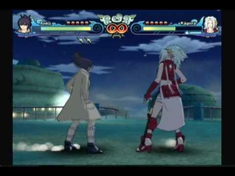 NARUTO SHIPPUDEN: Clash of Ninja Revolution 3 - Anko v.s. Kagura ...
