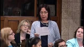 Question Period 2016 06 16 MP Georgina Jolibois