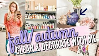 FALL/HALLOWEEN ULTIMATE CLEAN AND DECORATE WITH ME 2019 | CLEANING MOTIVATION | Love Meg