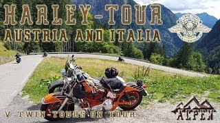 Mit der Harley durch die Alpen: Monte Santo di Lussari und Egger Alm