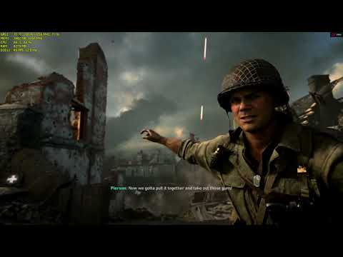 Call of Duty WWII (r9 380)