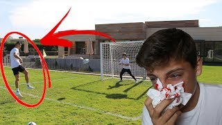CRISTIANO RONALDO HIT ME IN THE FACE!!! W/ W2S