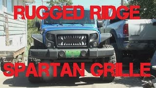 Rugged Ridge Spartan Grille Install