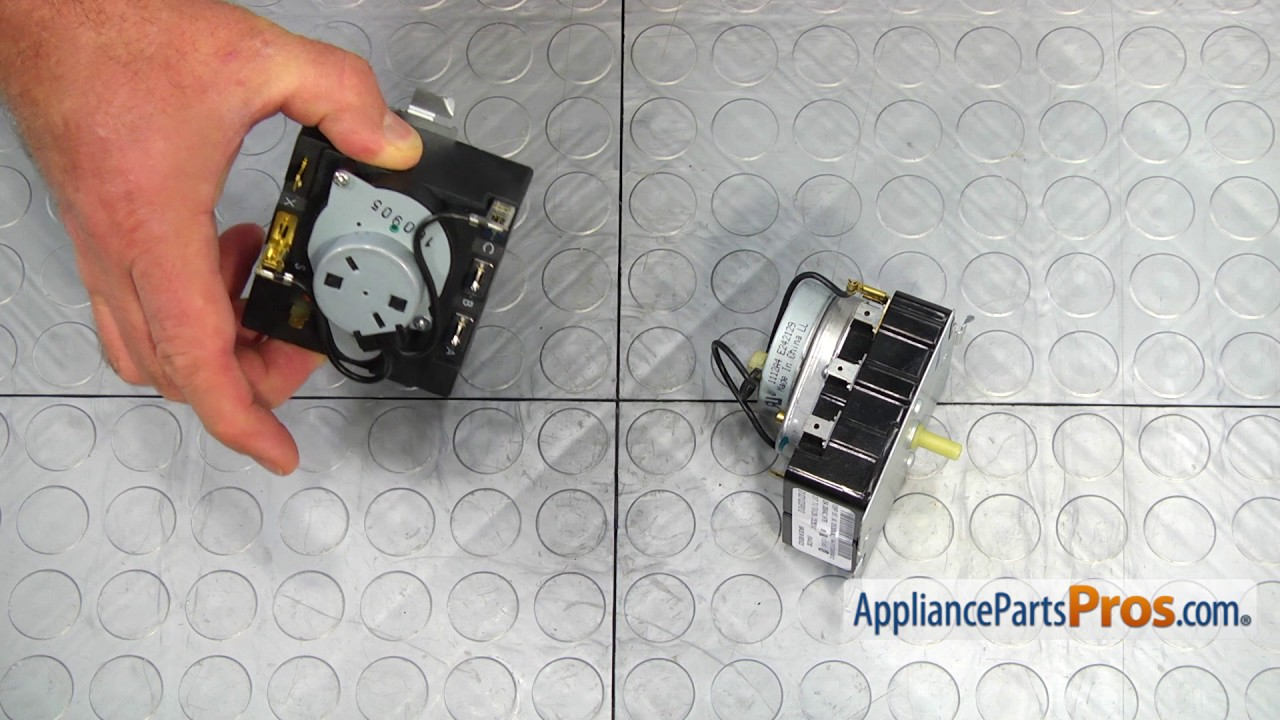 Dryer Timer (part #WE4M533) - How To Replace on