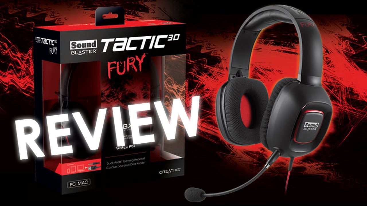 Creative Sound Blaster Tactic3D Fury Headset Driver