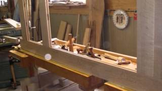 Making White Oak Interior Doors