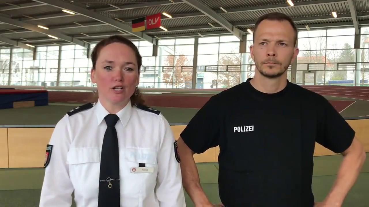Neuer Sport Einstellungstest Der Polizei Hamburg Youtube