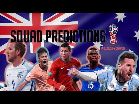 Australia Squad Predictions for the 2018 World Cup