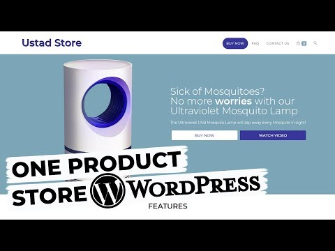 How To Build A One Product Dropshipping Store With WordPress