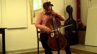 Bach from the Basement week 1 - Cello Suite in G Major, Prelude