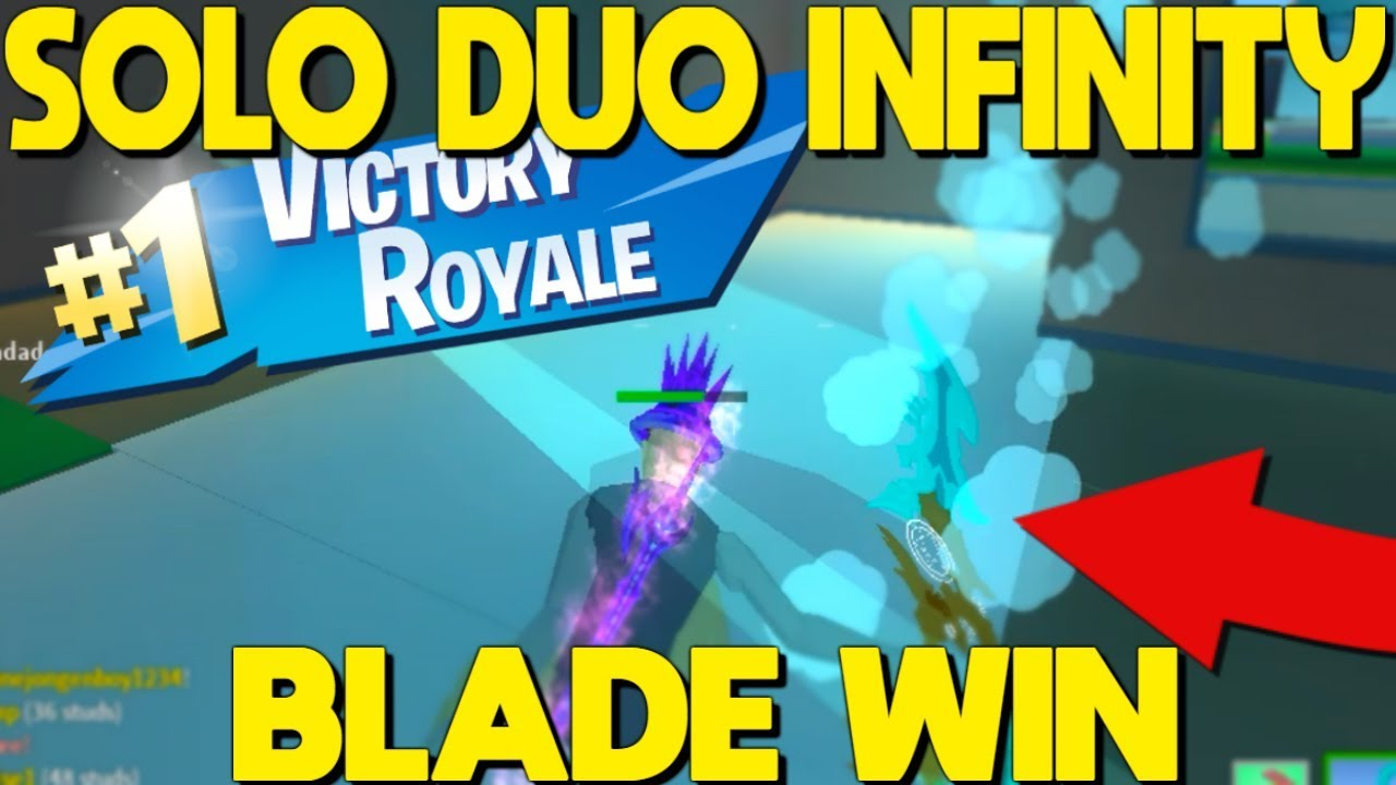INFINITY BLADE Solo Duo Win In Strucid... *HARD - YouTube