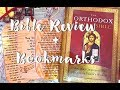 Orthodox Study Bible review and Flip Through + Bookmarks