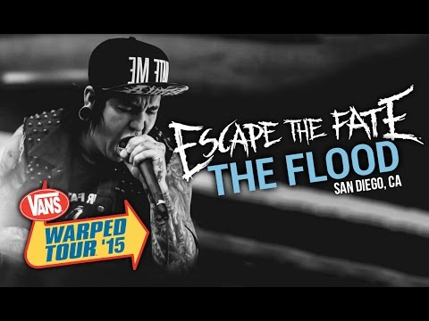 "Escape The Fate - ""The Flood"" LIVE! Vans Warped Tour 2015"