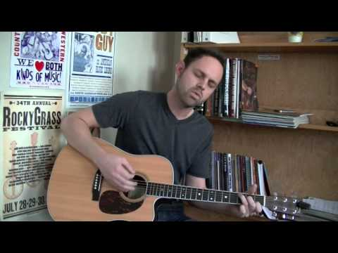 """Brett Turner covers """"Low"""" by Cracker - with posted guitar chords"""