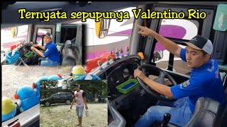 Driver tampan Hendra Ahok kembali ke Po Haryanto..skrg bawa bus apa ya !!