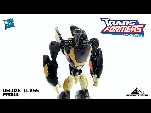 Optibotimus Looks Back S2 E2: Transformers Animated Deluxe Class PROWL