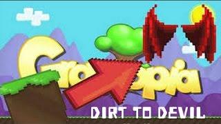 Growtopia Dirt To Devil #9 (Türkçe) 6 WL Donatelediler! :O