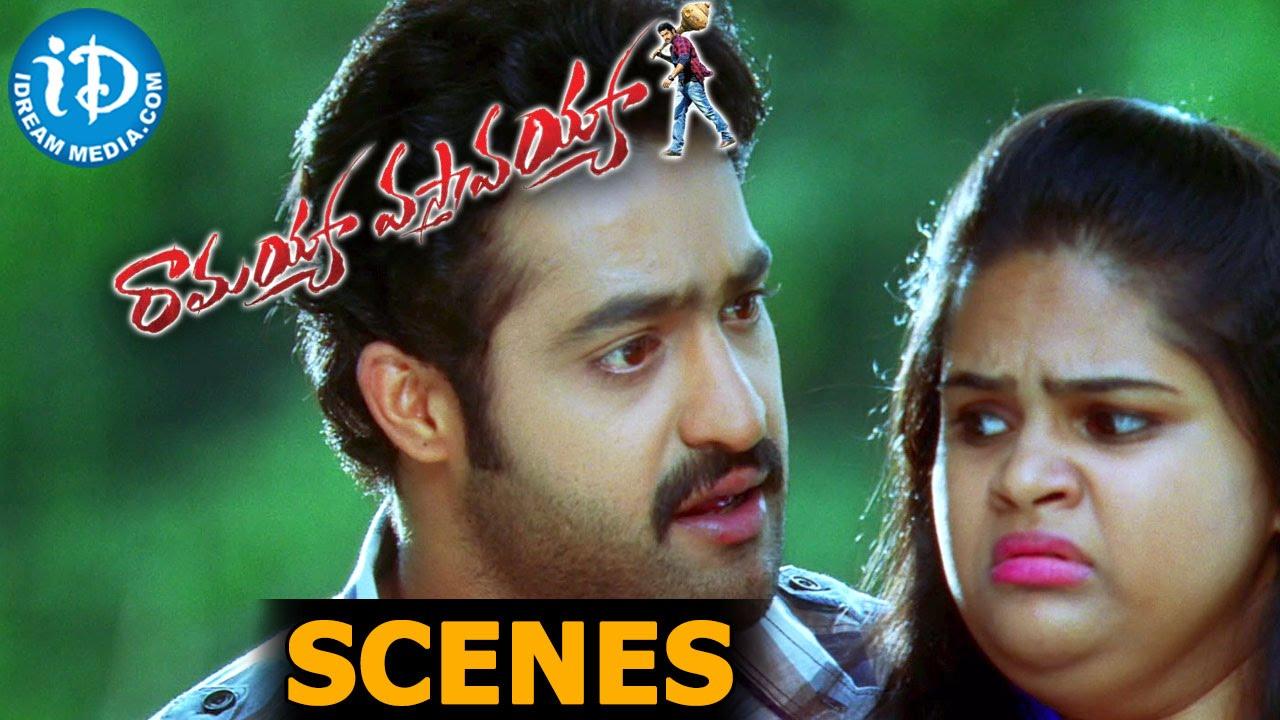 ramayya vasthavayya movie scenes || samantha, jr ntr, vidyullekha