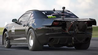 3,500hp Camaro BREAKS LOOSE @ 200mph!